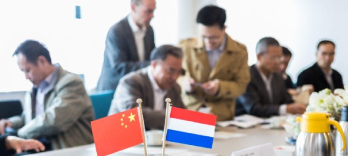 Chinese soja-delegatie in Nederland
