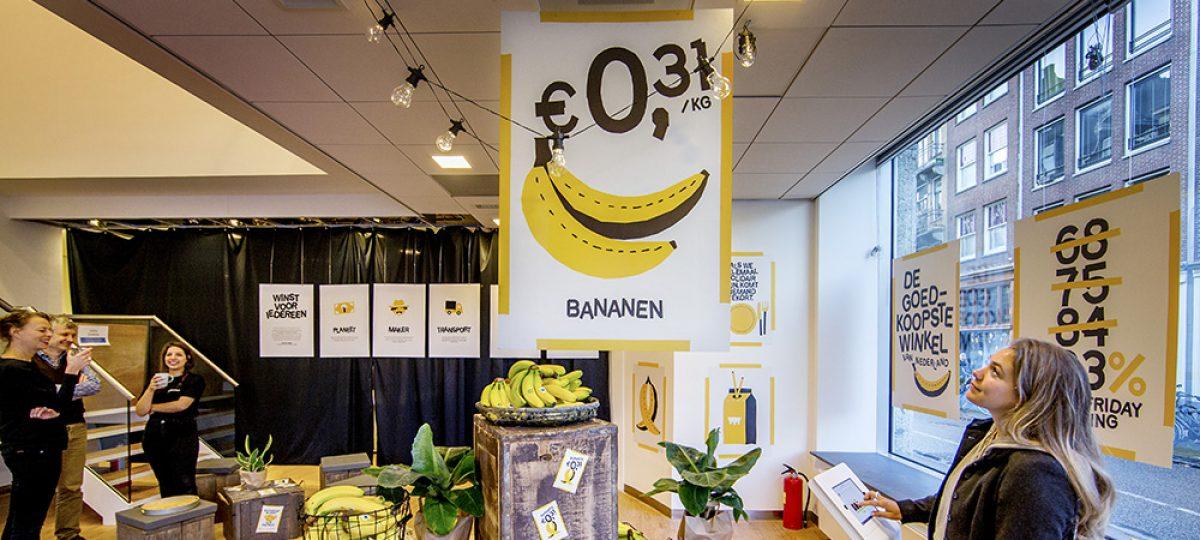 Opening goedkoopste winkel van Nederland voor 1 dag
