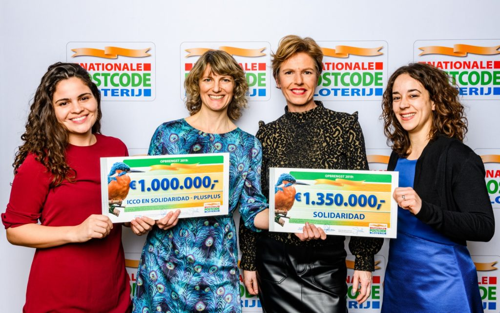 Foto van de bijdragen van de Nationale Postcode Loterij aan de projecten van Soildaridad