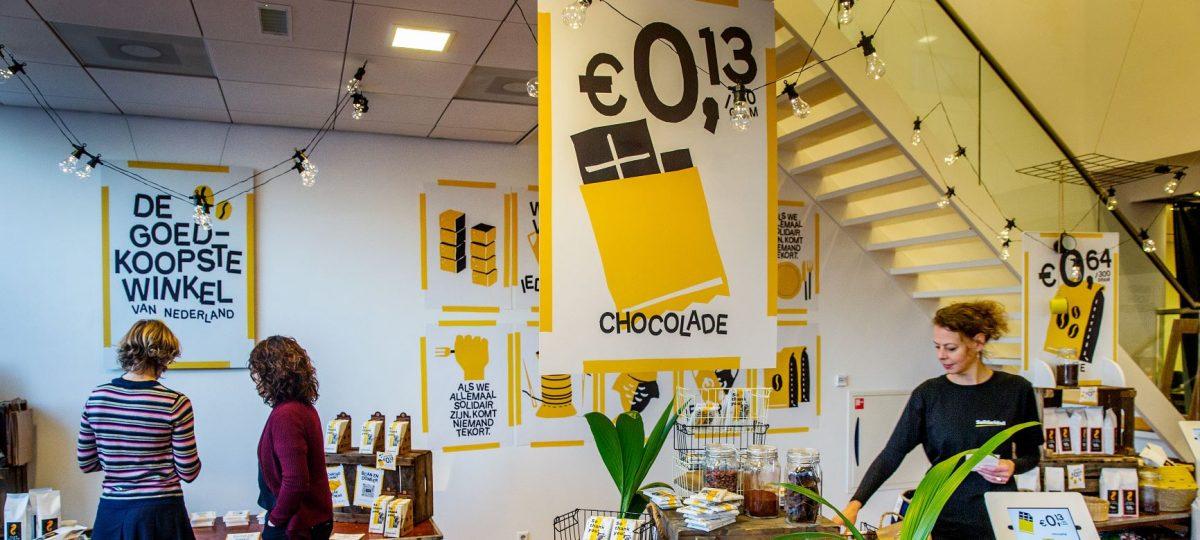 Opening goedkoopste winkel van Nederland Black Friday