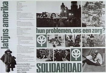 solidaridad oud latijns-amerika poster