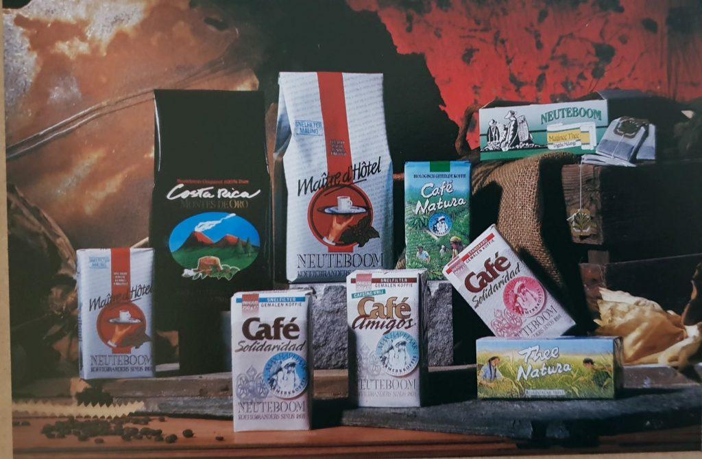 koffie en thee jaren 80 max havelaar