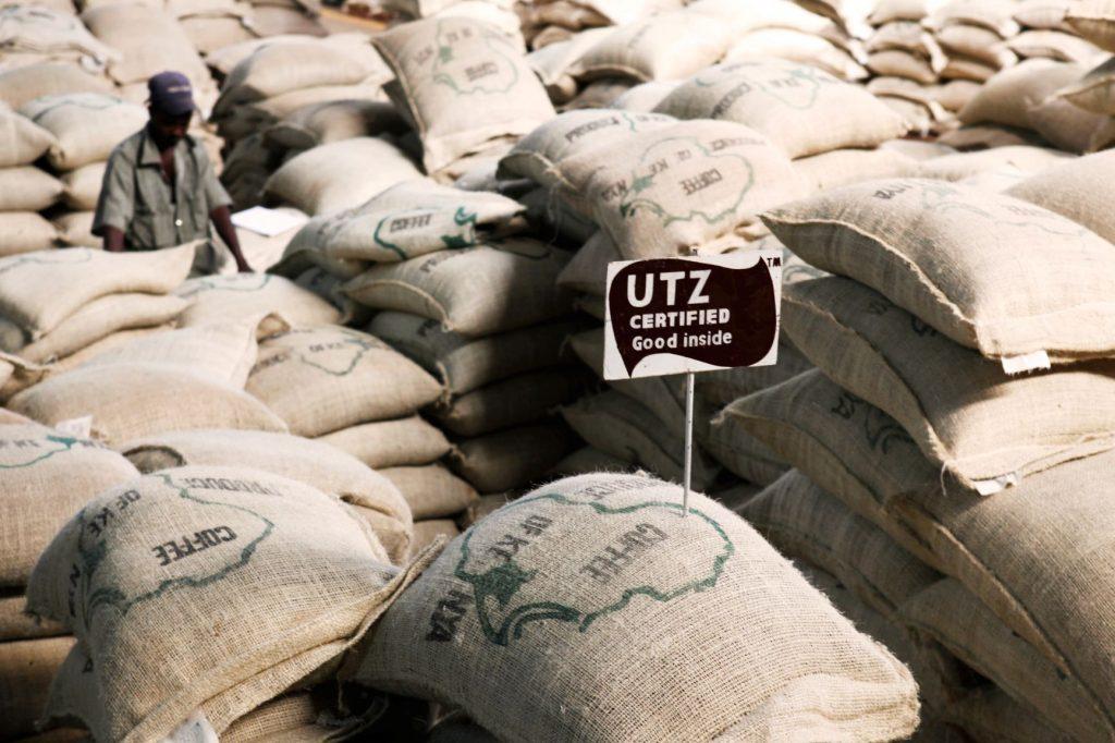 utz certified koffiezakken