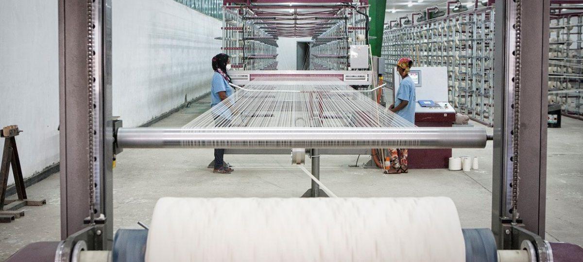 textielfabriek weven